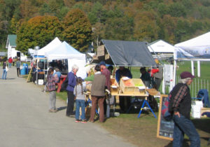 food vendors at vermont Sheep & Wool Festival