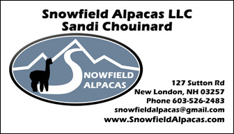 Snowfield Alpacas - Vermont Sheep & Wool Festival