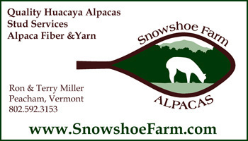Snowshoe Farm Alpacas - Vermont Sheep & Wool Festival